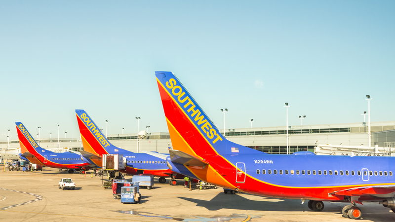 Chicago Midway Airport is a focus city for Southwest Airlines.